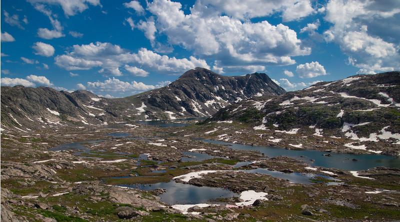 Elbow Lake Area Tarns