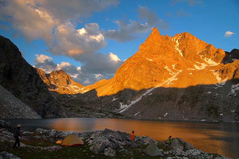 Peak Lake Sunset 2