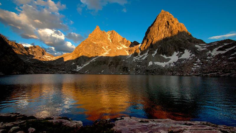 Peak Lake Sunset