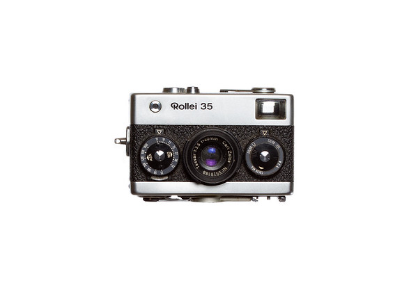 Vintage Camera Rollei-35 Front View