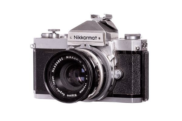 Vintage Camera Kikkormat Left Side View