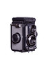 Yashica-44 Camera Right Side View Hood Closed