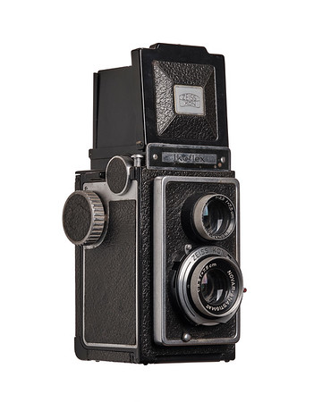 Vintage Camera Ikoflex 1785/16 Right Side View