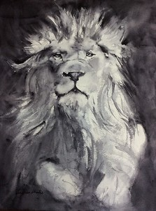 Portrait of a King by Laura Stratis