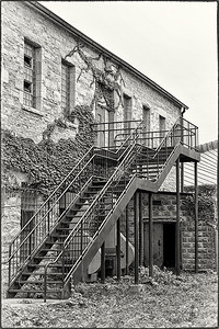 The Back Stairs by Fran Piepenbrink