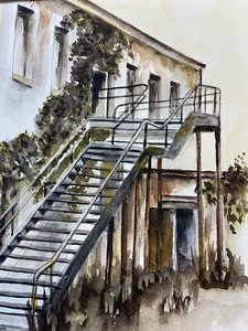 The Back Stairs by Linda Schmitt