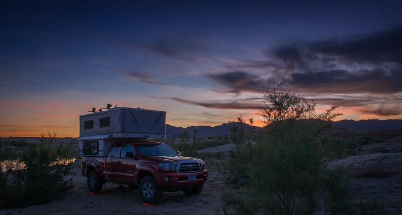 Camper's Evening