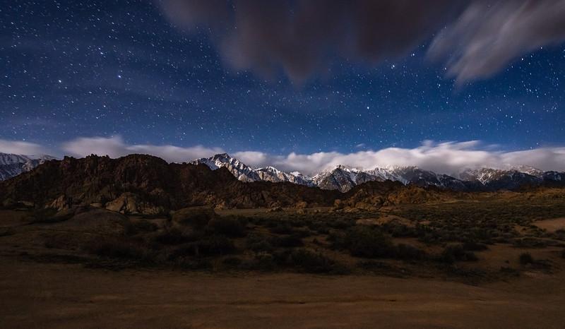 Sierra Nevada Night