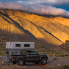 Camping on Saline Valley Road