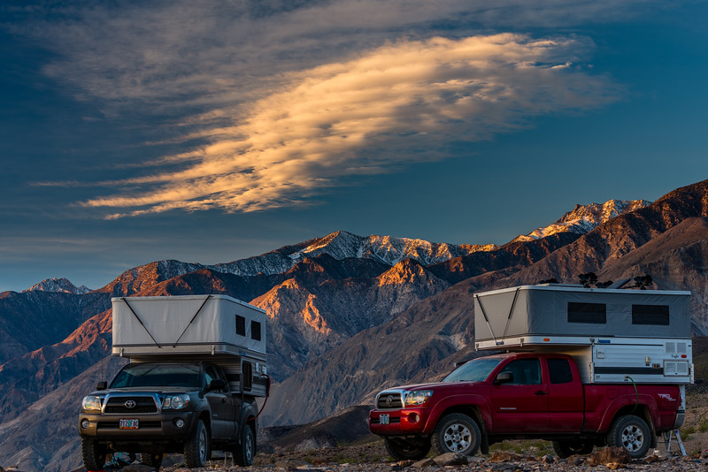 Four Wheel Camper and Saline Mountains