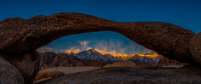 Mt. Whitney Sunrise and Lathe Arch