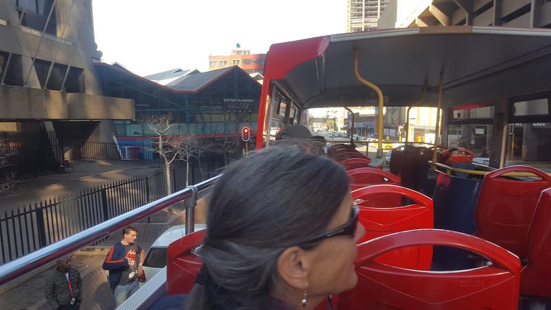 Joburg bus tour