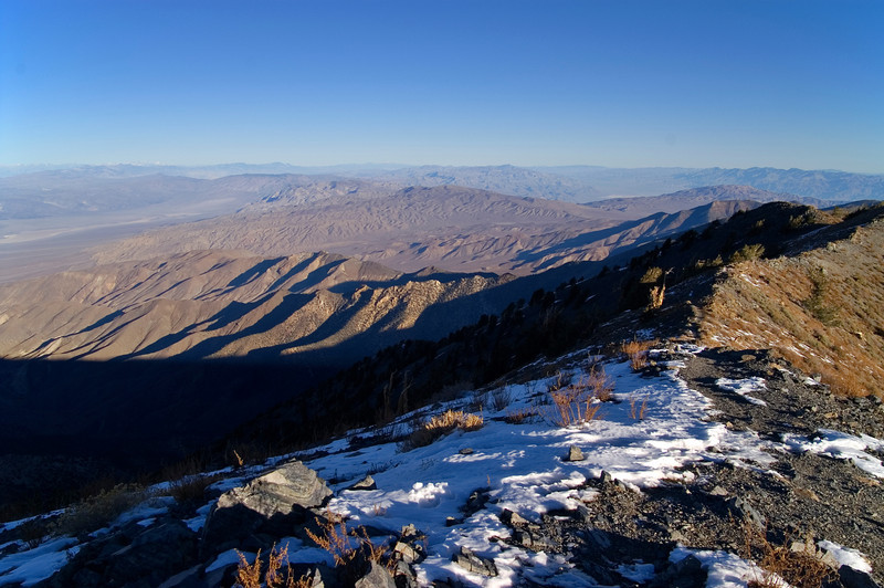 Looking south from Telescope Peak - Death Valley - California