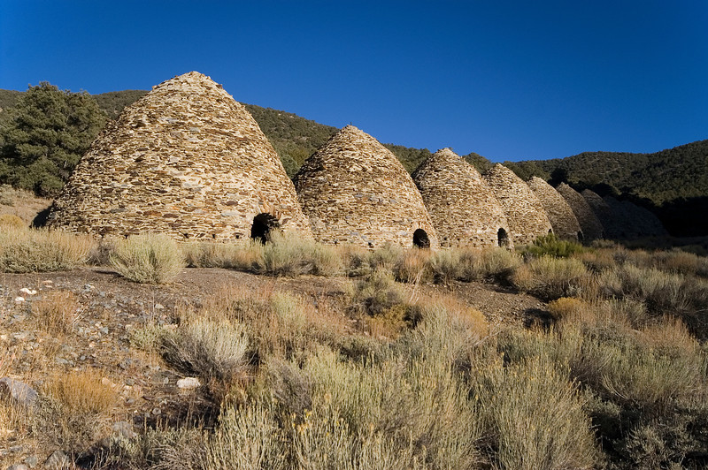 Charcoal Kilns near Wildrose - Death Valley - California