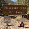 Telescope Peak Trail start - Death Valley - California