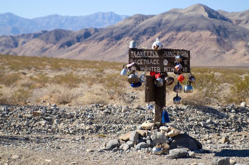 Teakettle Junction - Death Valley - California