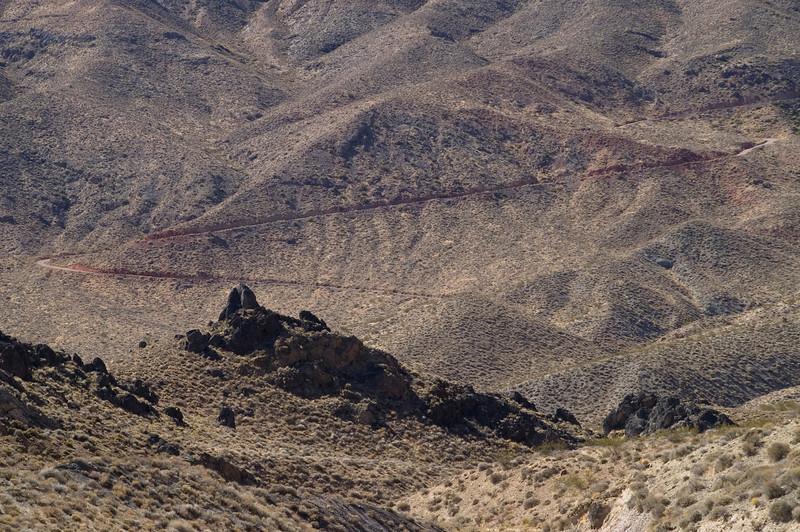 Through the Grapevine Mountains to Titus Canyon - Death Valley - California