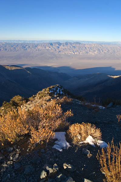 Looking west from Telescope Peak - Death Valley - California