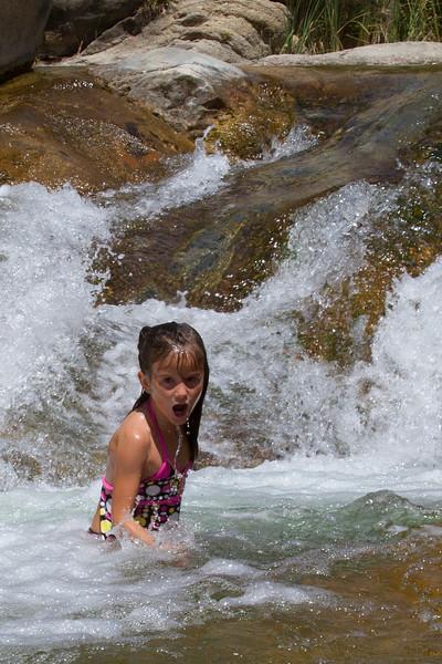 Tule River swimming hole