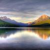 Morning over McDonald Lake