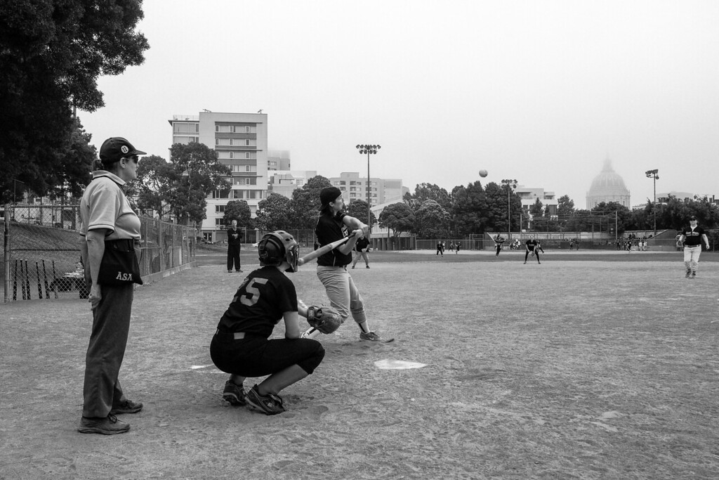 2013 Softball Team Pictures. San Francisco, CA. Crash Pad Crashers.
