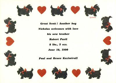 Bobby 0001 Jun 18, 1990