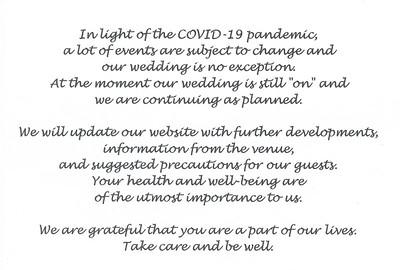 M&B Save the date covid-19