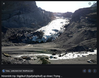 Gigjokull glacier 2