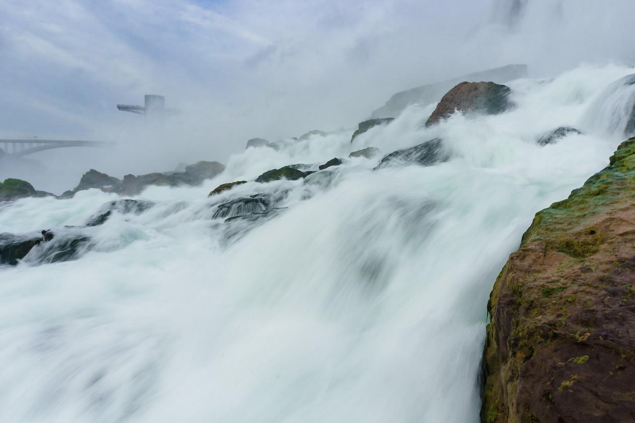 Up, close and personal with Niagara Falls
