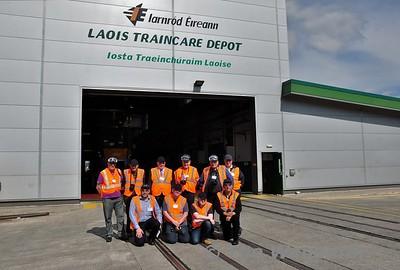 Locomotive & Carriage institution visit to Laois Traincare