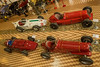 Museum cars from above