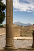 Vesuvius in the Background