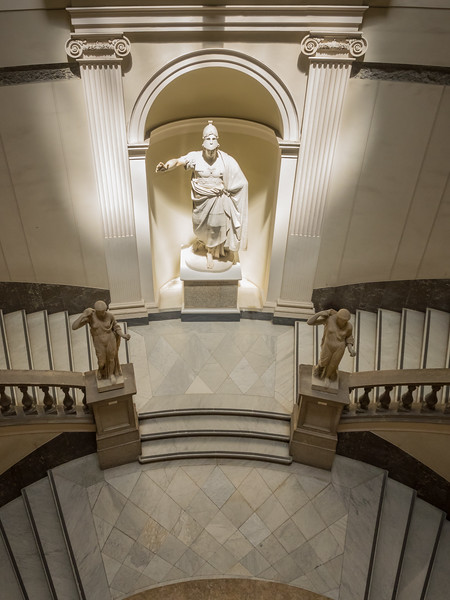 Staircase in the Entrance Hall of the National Museum