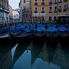 Popular gondola boarding area north of Piazza San Marco on the Fondamenta Orseolo and Rio del Bacina Orseolo