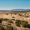 Panorama of Placitas Canyon north of Albuquerque, New Mexico
