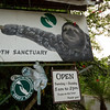 Entrance Signage at Sloth Sanctuary of Costa Rica