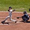 Buster Posey at Bat<br /> <br /> Giants vs Brewers<br /> May 6th 2012<br /> AT&T Park<br /> San Francisco, CA