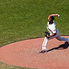 Santiago Casilla, Pitcher<br /> <br /> Giants vs Brewers<br /> May 6th 2012<br /> AT&T Park<br /> San Francisco, CA