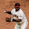 Pablo Sandoval, 3rd Base<br /> <br /> Giants vs Reds<br /> July 1st 2012<br /> AT&T Park<br /> San Francisco, CA