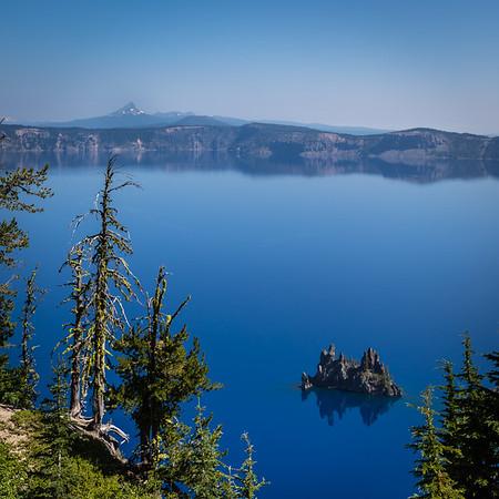 Oregon: Lake and Falls