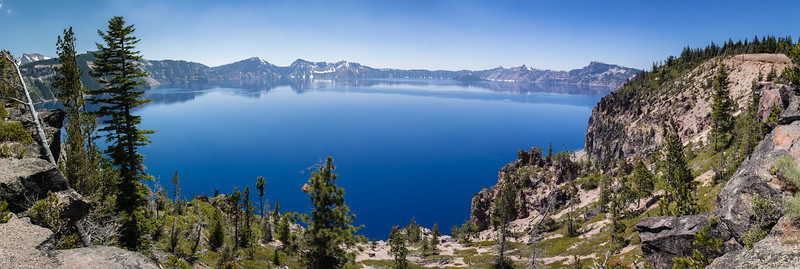 Crater Lake from Rim Road