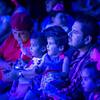 Family Enjoying the Show at el Circo Hermanos Vázquez