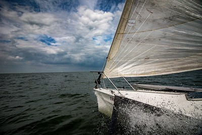 Sailing on the Markermeer