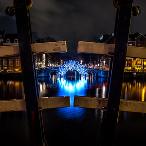 Amsterdam Light Festival - Herengracht entrance