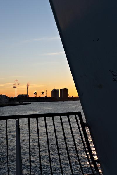 View from the Erasmus bridge