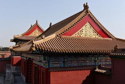 Beijing - Roofs in Forbidden city