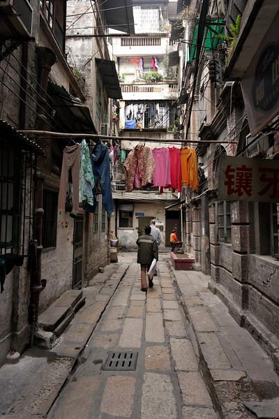 Guangzhou - back alley