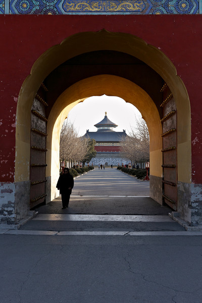 Beijing - Entrance to the Temple of Heaven