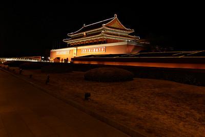 Beijing - Forbidden city at night