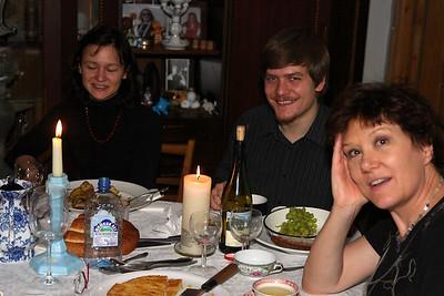 Right-to-left: Lisette, Anton, Tatiana